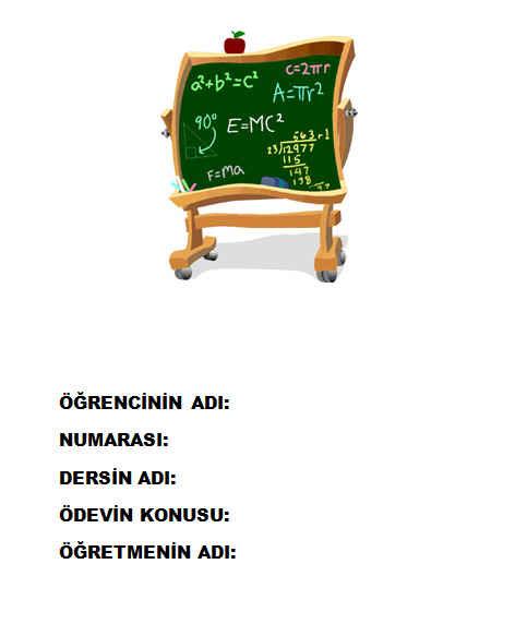 Matematik ödev Kapakları