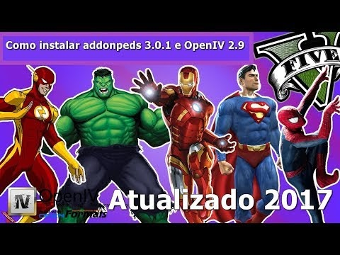 Como instalar addonpeds 3 0 1 e OpenIV 2 9 - Atualizado 2017