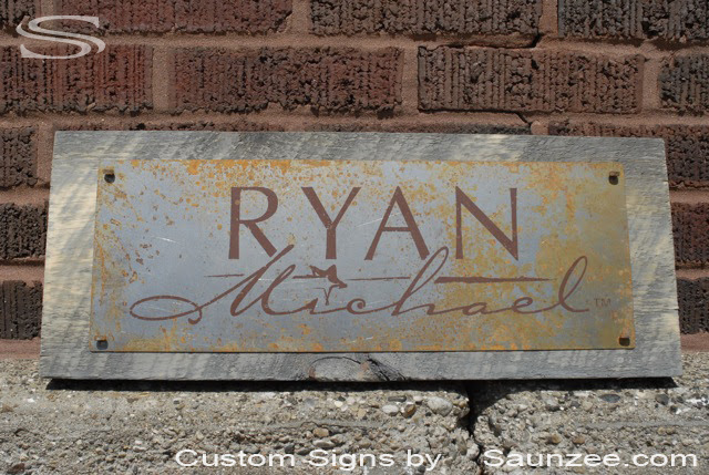 Steel  Signs Rustic rustic Sign tin Rusty  Rusty Metal  Rusty signs Sign Mild Aged Sign