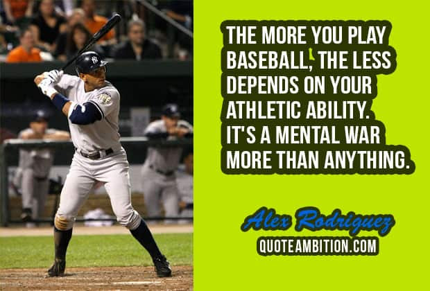 100 Famous Inspirational Baseball Quotes And Sayings