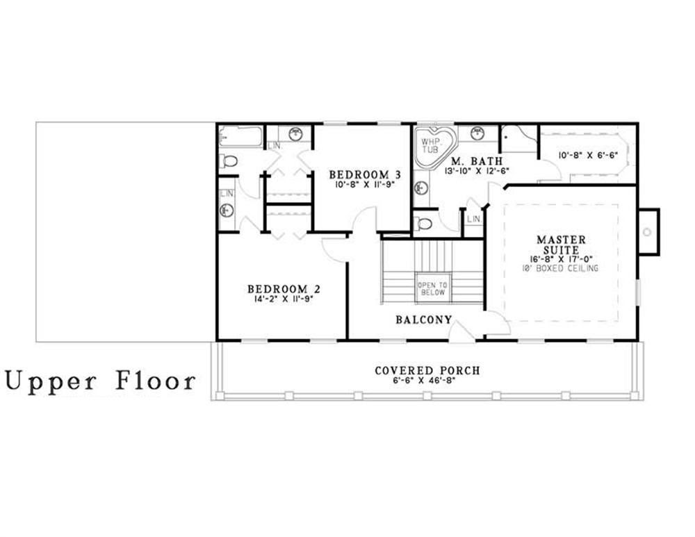 3 Bedrm, 2247 Sq Ft Southern House Plan 1531642