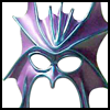 """Purple Dragon Mask""for Dragon Costumes Directions"
