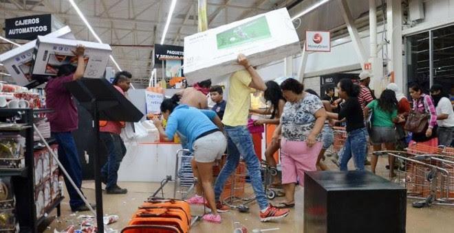 Resultado de imagen para SAQUEOS EN MEXICO