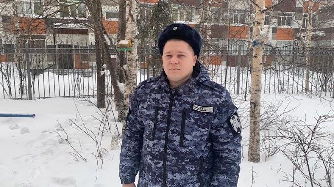 Герой дня: в Сургуте росгвардеец на выходном спас человека и поймал преступника