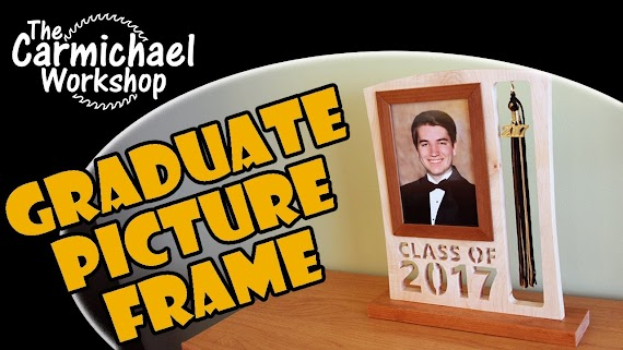 Awesome Graduation Photo Frame With Tassel Holder