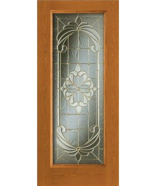 Design Pro Full Glass Fiberglass Exterior Door 686