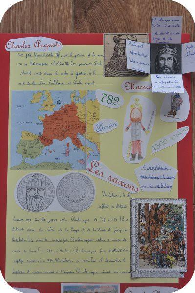 lapbook Charlemagne
