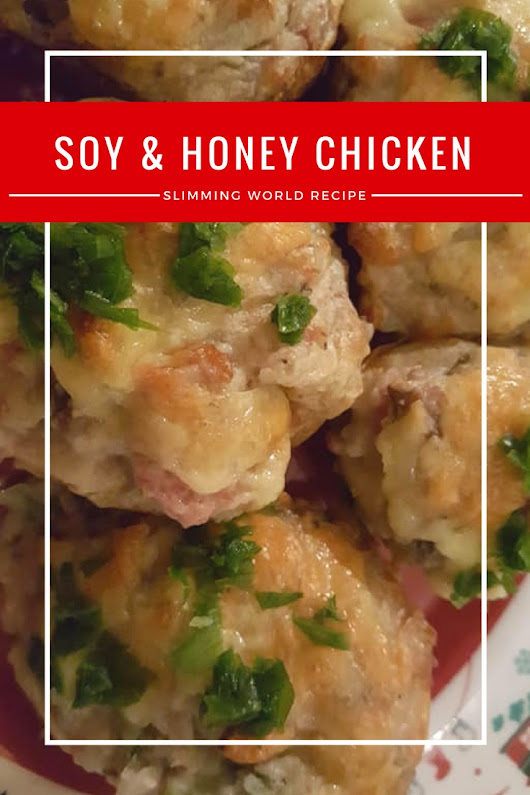 Soy Honey Chicken Slimming World Christmas Buffet Recipe