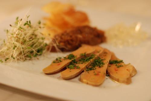Zinc's Poached Foie Gras