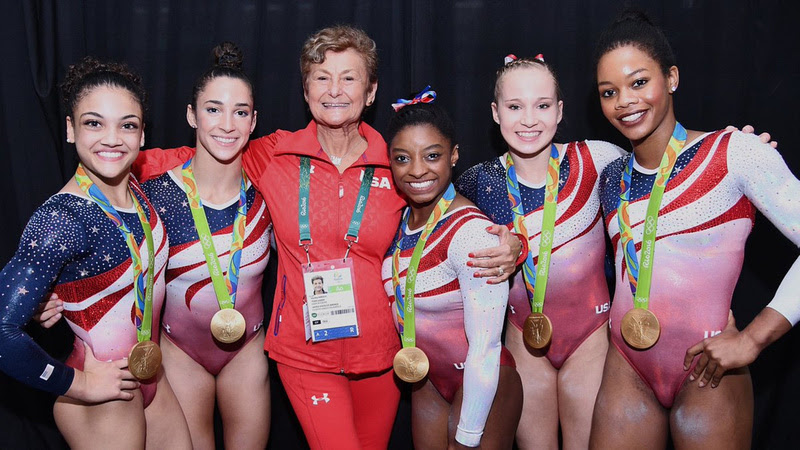 USA Gymnastics: Aug. 9 - Women's Team Final &emdash; Martha Karolyi and the Final Five