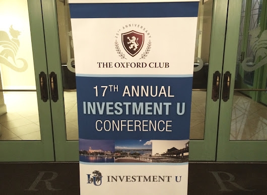 2015 Investment U Conference Wrap-up – Day 1 - Investment U