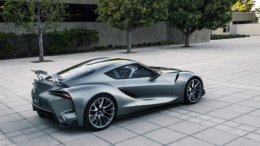 Toyota makes another beautiful 'Gran Turismo' supercar