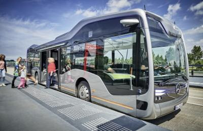 Mercedes Benz Pushes On With Autonomous Bus Technology | Justmeans