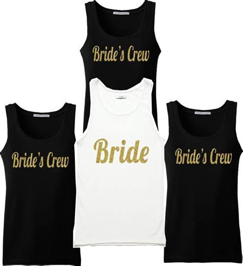 Bridesmaid Shirts. Set Of Bridesmaid T Shirts. Bridal