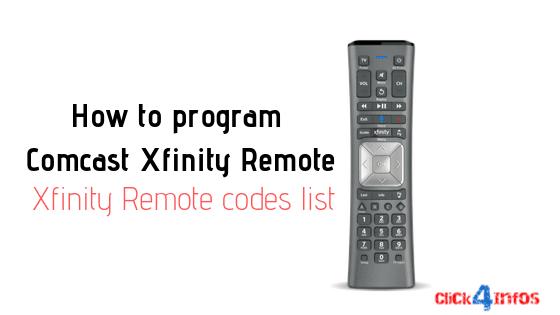 How To Sync Xfinity Remote To Box