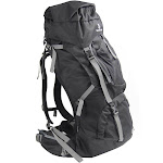 Tahoe Gear Fairbanks 75L Premium Internal Frame Hiking Backpack - Black by VM Express