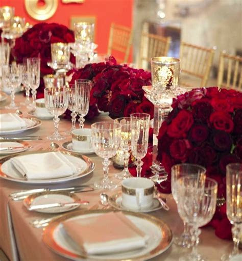 Red wedding decorations   massvn.com
