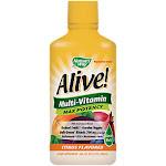 Natures Way - Alive! Whole Food Energizer Liquid Multivitamin - Citrus (30 Fluid Ounces) - Liquid Multivitamins