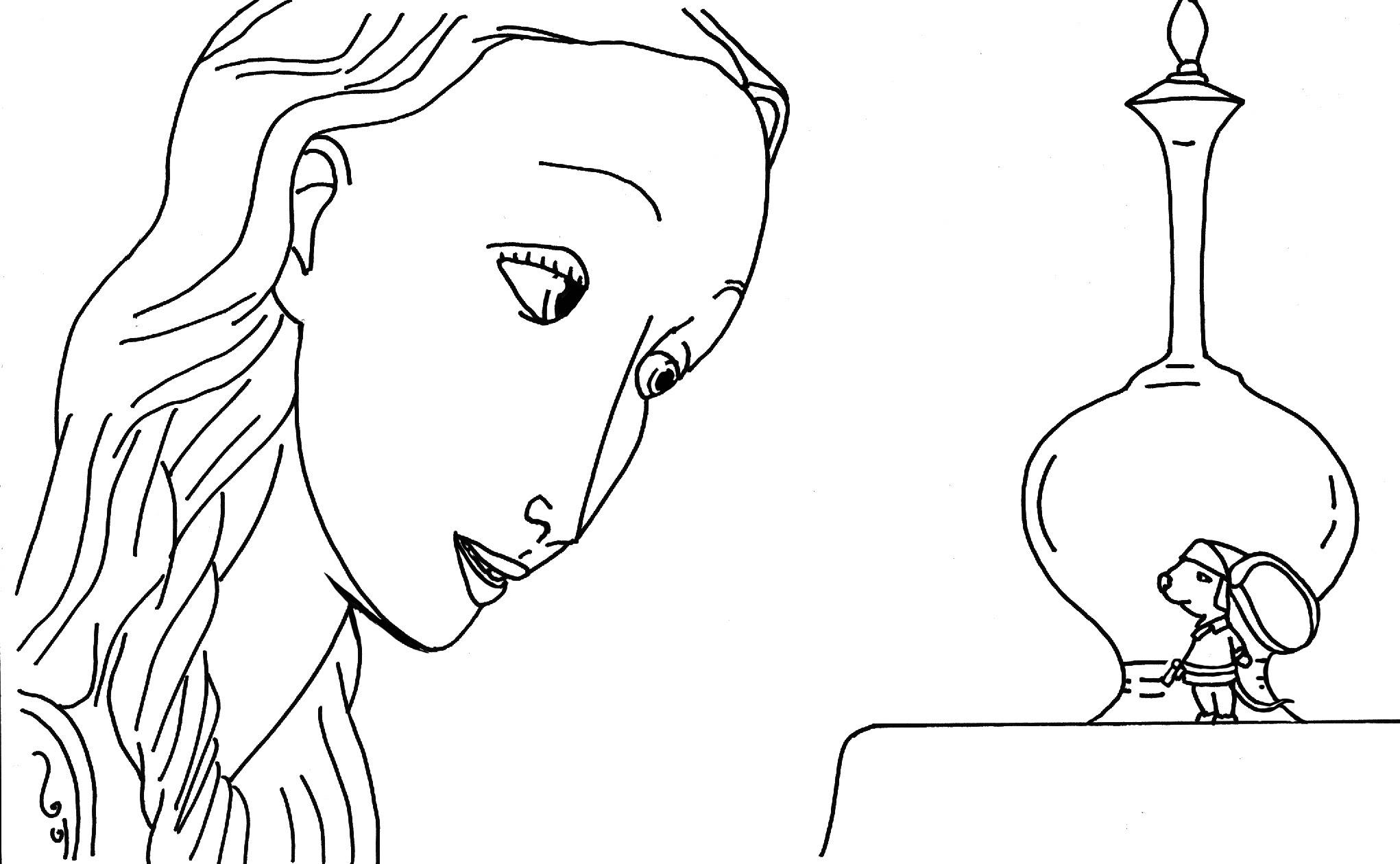 Coloriages du film La Légende de Despereaux Tale of