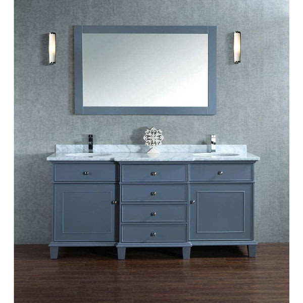 Bathroom Vanities 72 Inch Grey Bathroom Vanity