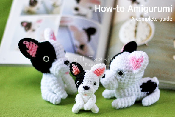 Amigurumi French Bulldog [Pattern from Ami Ami Dogs]
