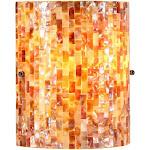 Chloe CH3CT28CC08-WS1 8.5 in. Lighting Shelley Mosaic 1 Light Wall Sconce - Black