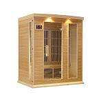 GameOver Maxxus Saunas Maxxus 3 Person Far IR Carbon Sauna GA73275