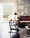 French Bohemian Eclectic Traditional Vintage Living Room Photo - Lonny
