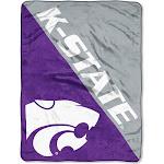 NCAA Kansas State Wildcats Micro Fleece Throw Blanket