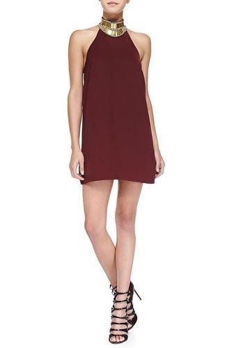 Keepsake Modern Myth Halter Neck Mini Dress