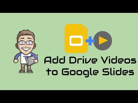 New Feature: Insert Google Drive Videos into Google Slides