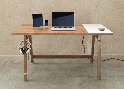 Desk 01 is one of the smartest yet simplest desks we've seen | Cult of Mac
