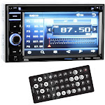"BOSS BV 9364B In-dash DVD Receiver - 6.2"" Touch Display"