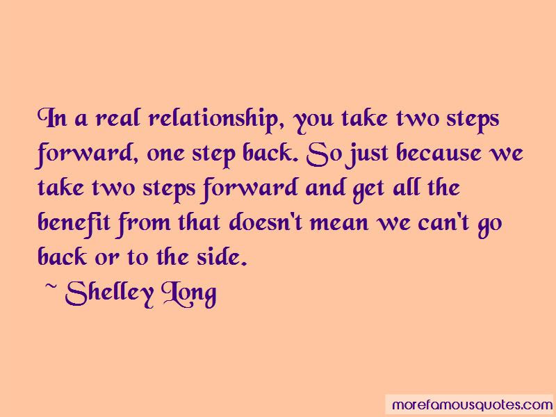 Take Two Steps Forward One Step Back Quotes Top 6 Quotes About Take