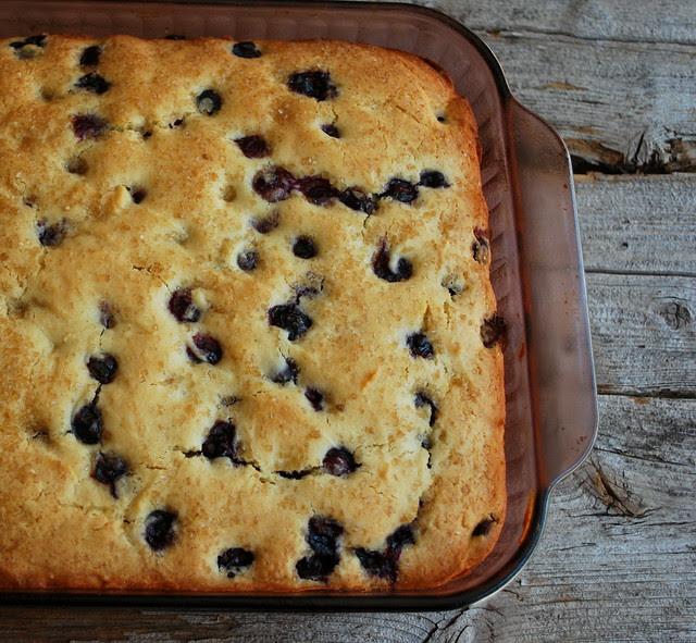 Blueberry Buttermilk Cake 1