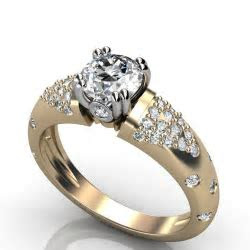 Women?s Diamond Engagement Ring   This is a beautiful 1.50