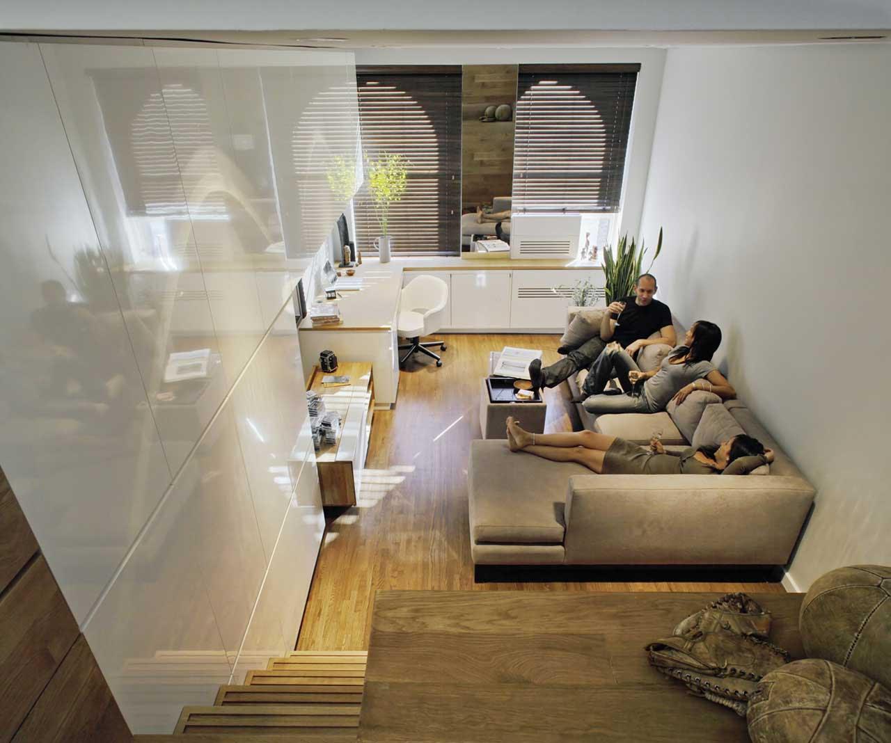 Desain Ruang Keluarga Kecil Sobat Interior Rumah
