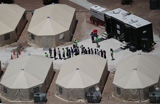 Hundreds Of Kids Transferred To 'Tent City' Migrant Detention Center In Recent Weeks