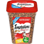 Temptations MixUps Treats for Cats, Chicken, Liver & Beef, Backyard Cookout, Value Size - 16 oz