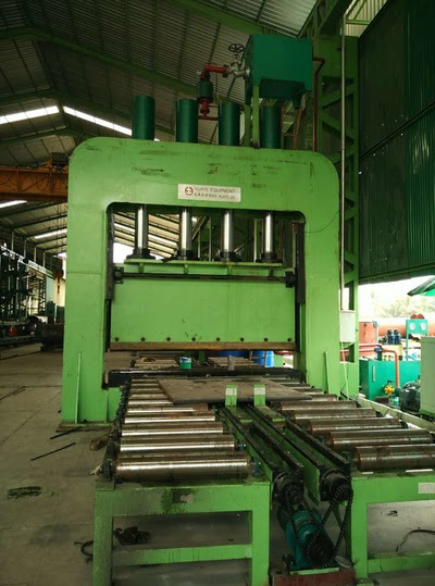 800 Ton Hydraulic Press Commissioned in Thailand