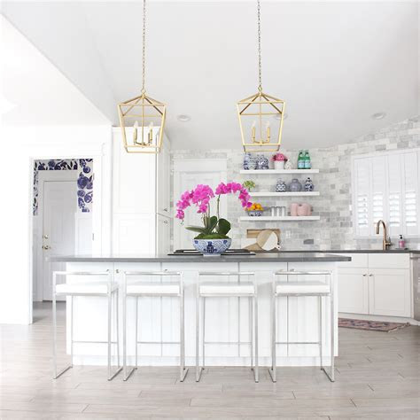 kitchen island lighting ideas  height diagrams