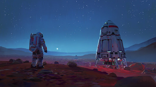 Get Lost In Space With Some Amazing Art By Maciej Rebisz
