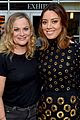 chris pratt amy poehler support aubrey plaza at her movie premiere 02