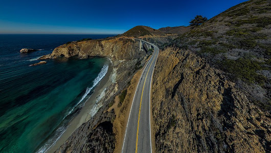 "DRONEFEST on Twitter: ""The winner of Best in Festival Photography is ""Bixby Bridge"" by George Krieger - Congratulations! #DRONEFEST2016 """