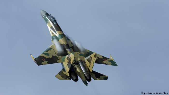 Russland Kampfjet Sukhoi Su-35 (picture-alliance/dpa)
