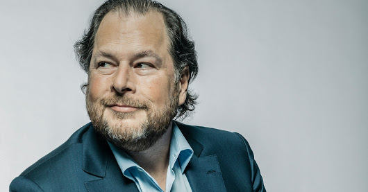 Marc Benioff of Salesforce: 'Are We Not All Connected?'