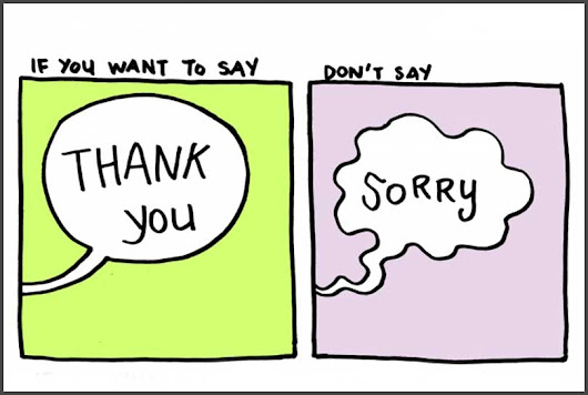 Why You Should Say 'Thank You' instead of 'Sorry' | TheJobNetwork