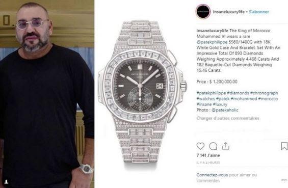 Roban exclusivos relojes al Rey de Marruecos valorados en 1,2 millones de euros