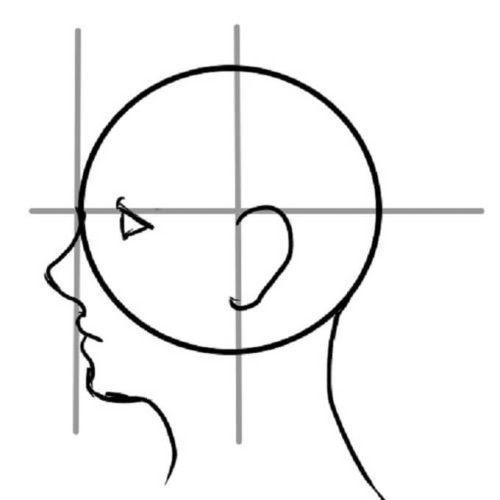 イラスト講座初心者向け簡単な横顔の描き方 男女の描き方の違いやコツ