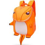 AUPERTO Waterproof 3D Dinosaur Backpack, Toddler Backpacks for Boys, Dinosaur Bookbag Toys Bag for Preschooler 1-6 Years Old